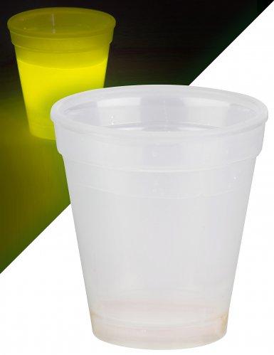 Verre lumineux jaune 250 ml