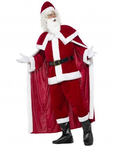Déguisement Père Noël luxe adulte-1