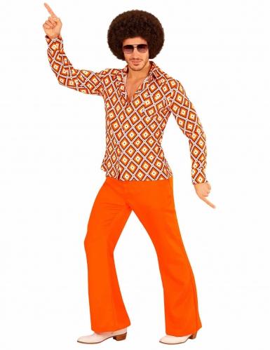 Chemise groovy rétro années 70 homme