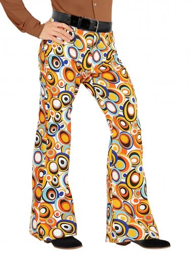 Pantalon groovy bubbles années 70 homme