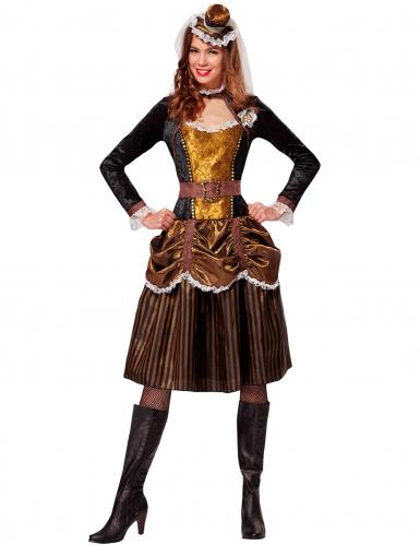 Déguisement princesse baroque femme Steampunk