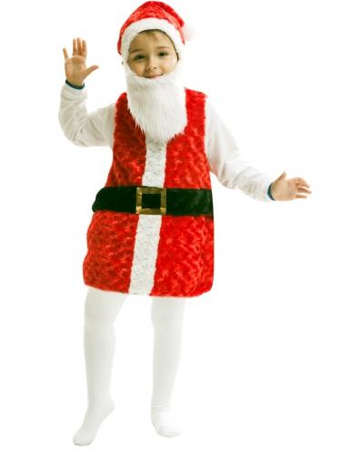 Déguisement Père Noël avec bonnet et barbe enfant