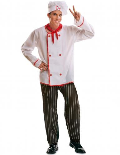 D guisement cuisinier homme deguise toi achat de for Cuisinier 49