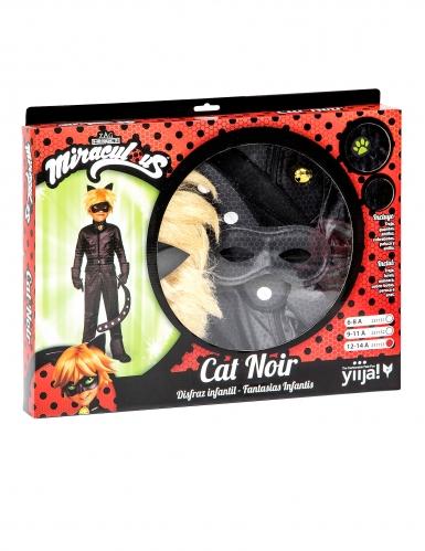 Coffret déguisement Chat Noir Miraculous™ enfant-2