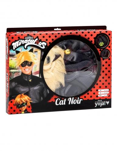 Coffret déguisement Chat Noir Miraculous™ adulte-1
