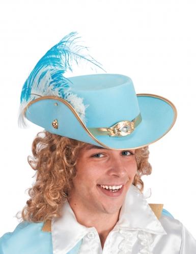 Chapeau Prince bleu ciel adulte