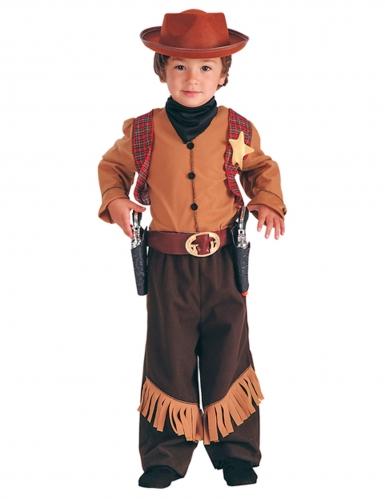 Déguisement cowboy de l'Ouest garçon
