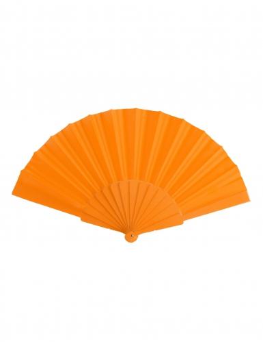 Eventail orange uni