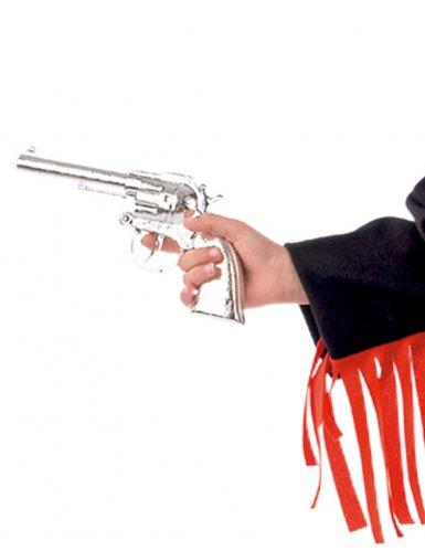 Pistolet argenté enfant-1