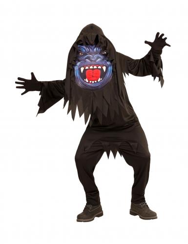 Déguisement gorille grosse tête adolescent Halloween