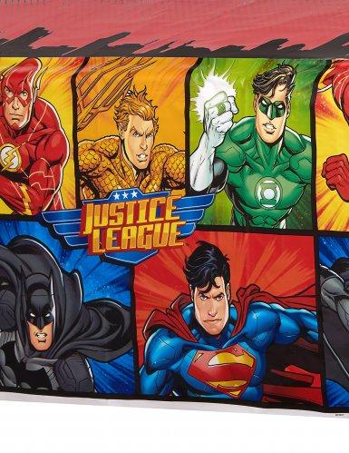 Nappe plastique Justice League ™ 137 x 213 cm-1