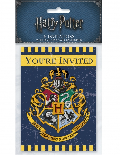 8 Cartes d'invitation Harry Potter ™-1