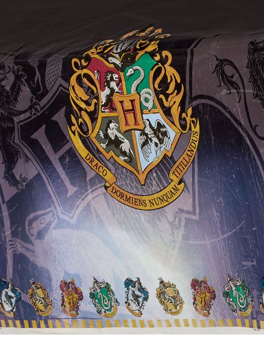 Nappe en plastique Harry Potter ™ 137 x 213 cm-1