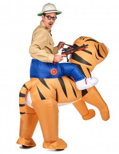 Déguisement tigre gonflable adulte-2
