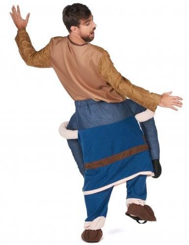 Déguisement homme à dos de viking adulte-2