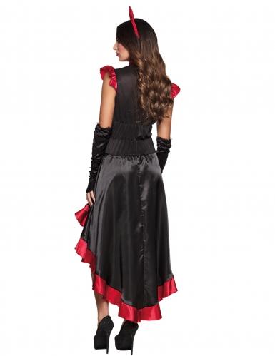 Déguisement démon gothique femme Halloween-1