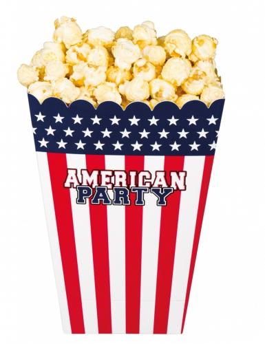 4 Pots à popcorn American party