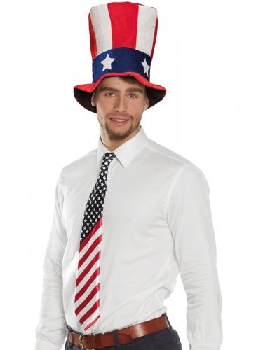 Cravate drapeau américain adulte