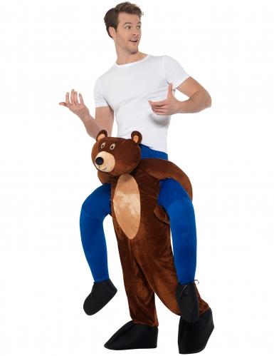 Déguisement homme à dos d'ours adulte-1