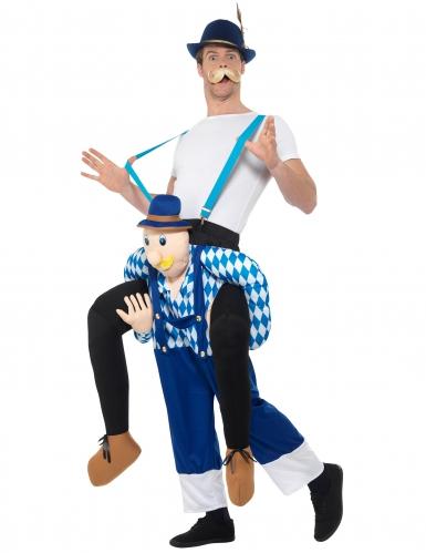 Déguisement homme à dos de bavarois bleu adulte Fête de la bière-1