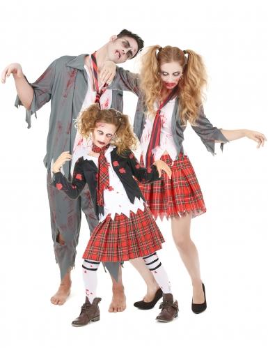 Déguisement de Famille Zombie Halloween