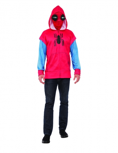 Déguisement luxe Spider-Man sweat Homecoming ™ adulte-1