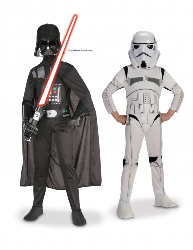 Pack Dark Vador + Stormtrooper Star Wars ™ enfant