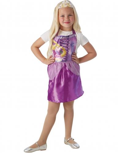 Robe avec tiare Raiponce ™ enfant