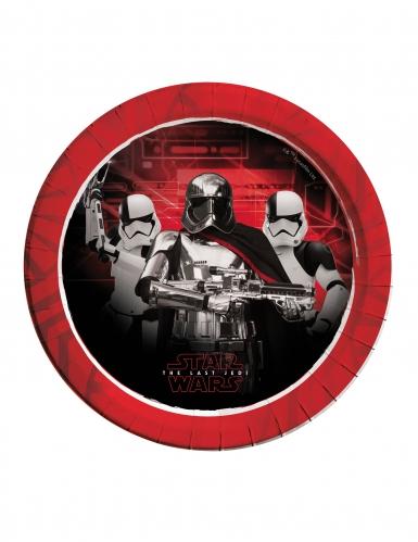 8 assiettes Star Wars 8 The Last Jedi ™ 23 cm
