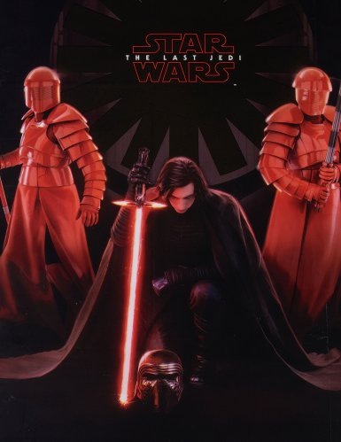 Nappe plastique Star wars 8 The Last Jedi ™ 120 x 180 cm-2