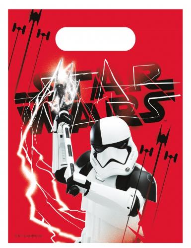 6 sacs cadeaux Star wars 8 The Last Jedi ™ 23 x 16,5 cm