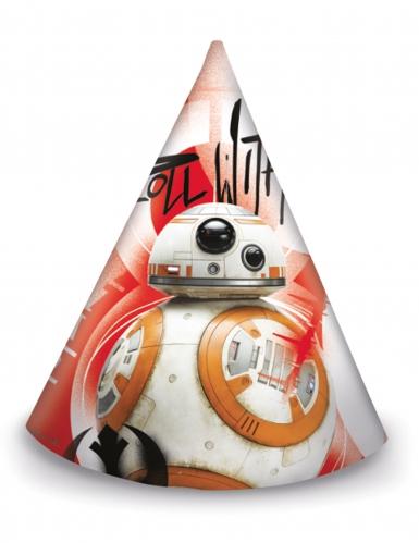 6 chapeaux de fête Star Wars 8 The Last Jedi ™