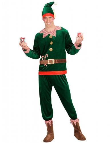 Déguisement assistant lutin homme Noël