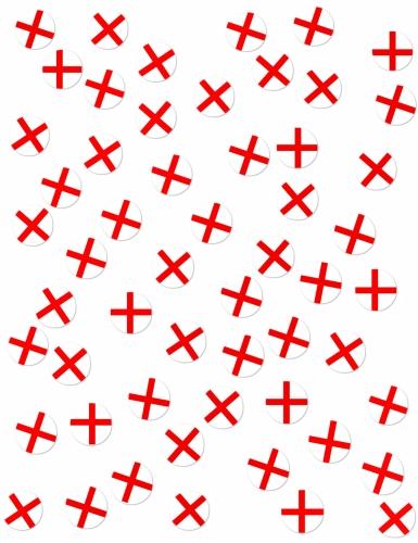 150 Confettis de table Drapeaux Angleterre-1