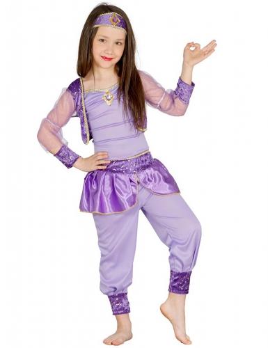 Déguisement ballerine orientale violette fille