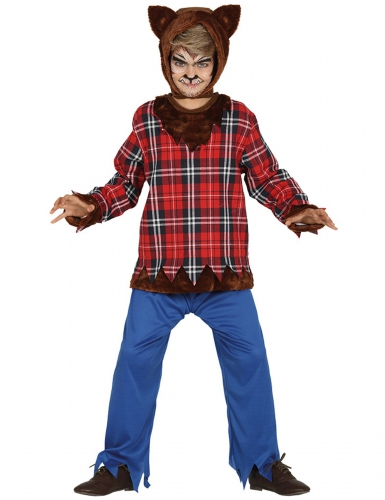 Déguisement loup-garou du campus garçon Halloween