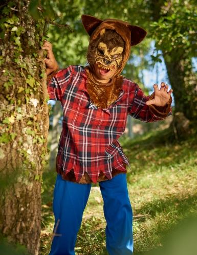 Déguisement loup-garou du campus garçon Halloween-1