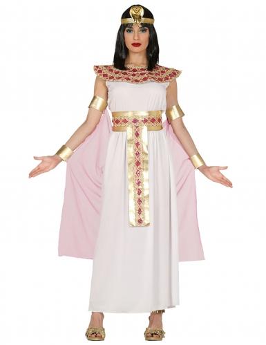 Déguisement égyptienne rose et or femme