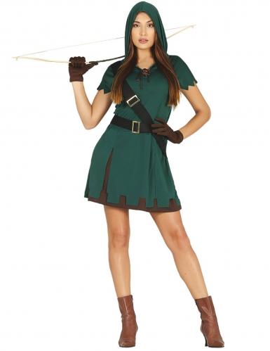 Déguisement archer verte femme