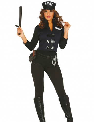 Déguisement sexy SWAT femme