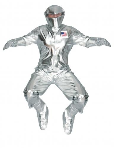 Déguisement astronaute argenté adulte