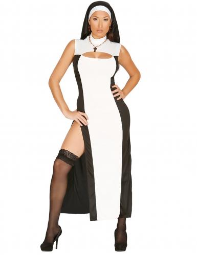 Déguisement religieuse sexy femme