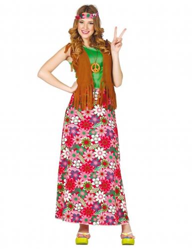Déguisement happy hippie femme