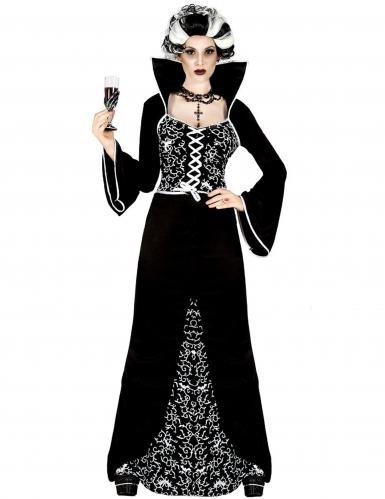 Déguisement fantôme baroque femme Halloween