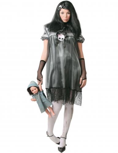 Déguisement petite poupée de la nuit femme Halloween