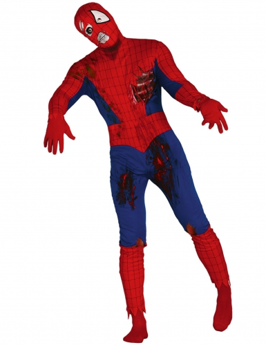 Déguisement zombie homme araignée adulte Halloween