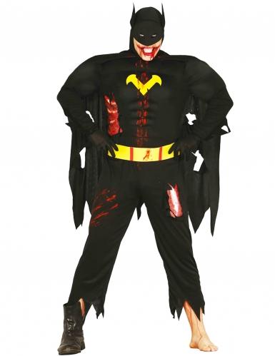 Déguisement zombie super héros de la nuit adulte Halloween