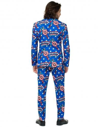 Costume Mr. Captain America™ homme Opposuits™-1