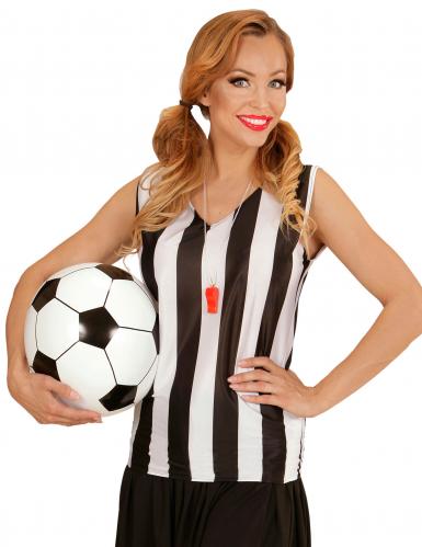 Ballon football gonflable 25 cm-1