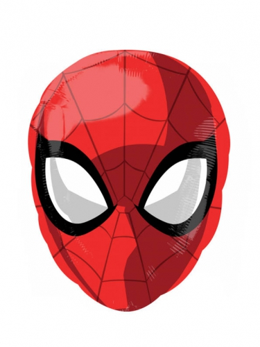 Ballon aluminium Spiderman ™30 x 43 cm